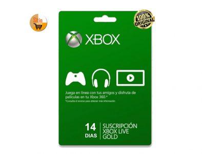 Xbox-Live-Gold Code-Digital-14 Días-Global Entrega-Inmediata
