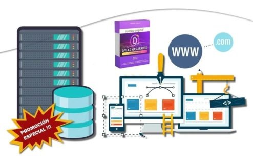 Plan Hosting 5 Gb +dominio .com +ssl +tema Premium +correos