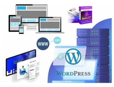 Plan Hosting Ilimitado +dominio +ssl +theme Premium +correos